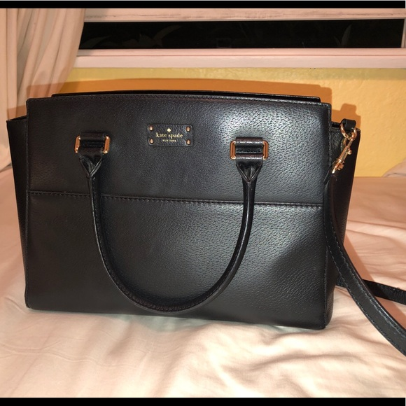 kate spade Handbags - Kate Spade Black Leather Handbag